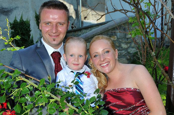 Poroka Maja in Jože